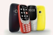 Nokia 3310 family - colourful retro-looking line-up of feature phones