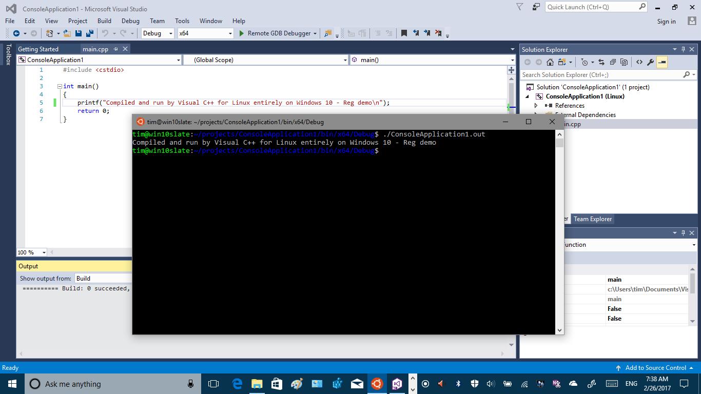 Linux on Windows 10: Will penguin treats in Creators Update