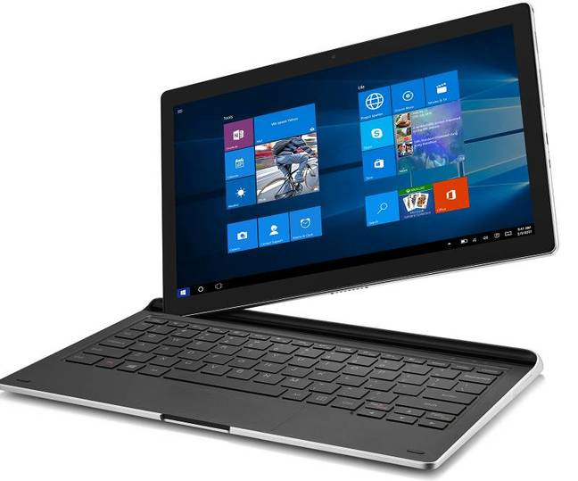 The Idol Plus 12 is a Windows 10 detachable with pen