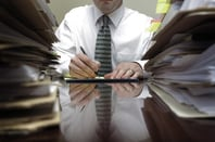 Files and paperwork photo via Shutterstock