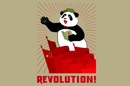 Chinese revolutionary panda