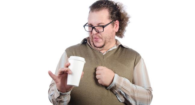Man coffee photo via Shutterstock