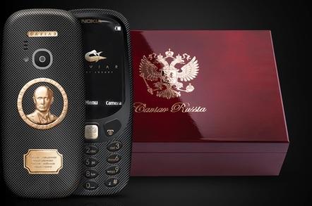 Nokia 3310 Vladimir Putin edition