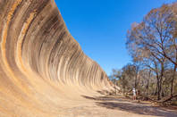 Wave Rock in Western Australia