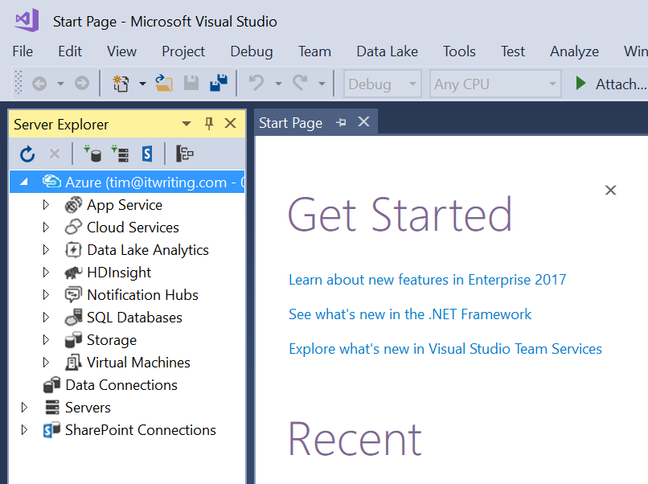 Microsoft has released Visual Studio 2017