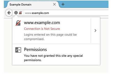Firefox 52's new security warnings
