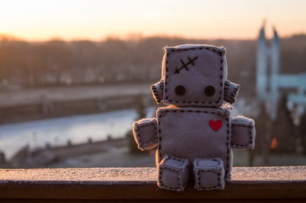Soft robot photo via Shutterstock