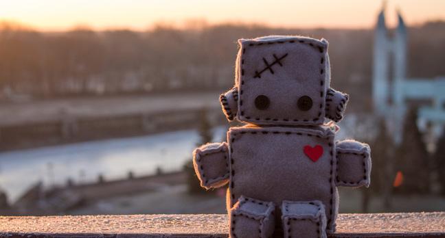 Soft robot photo via Shutterstock