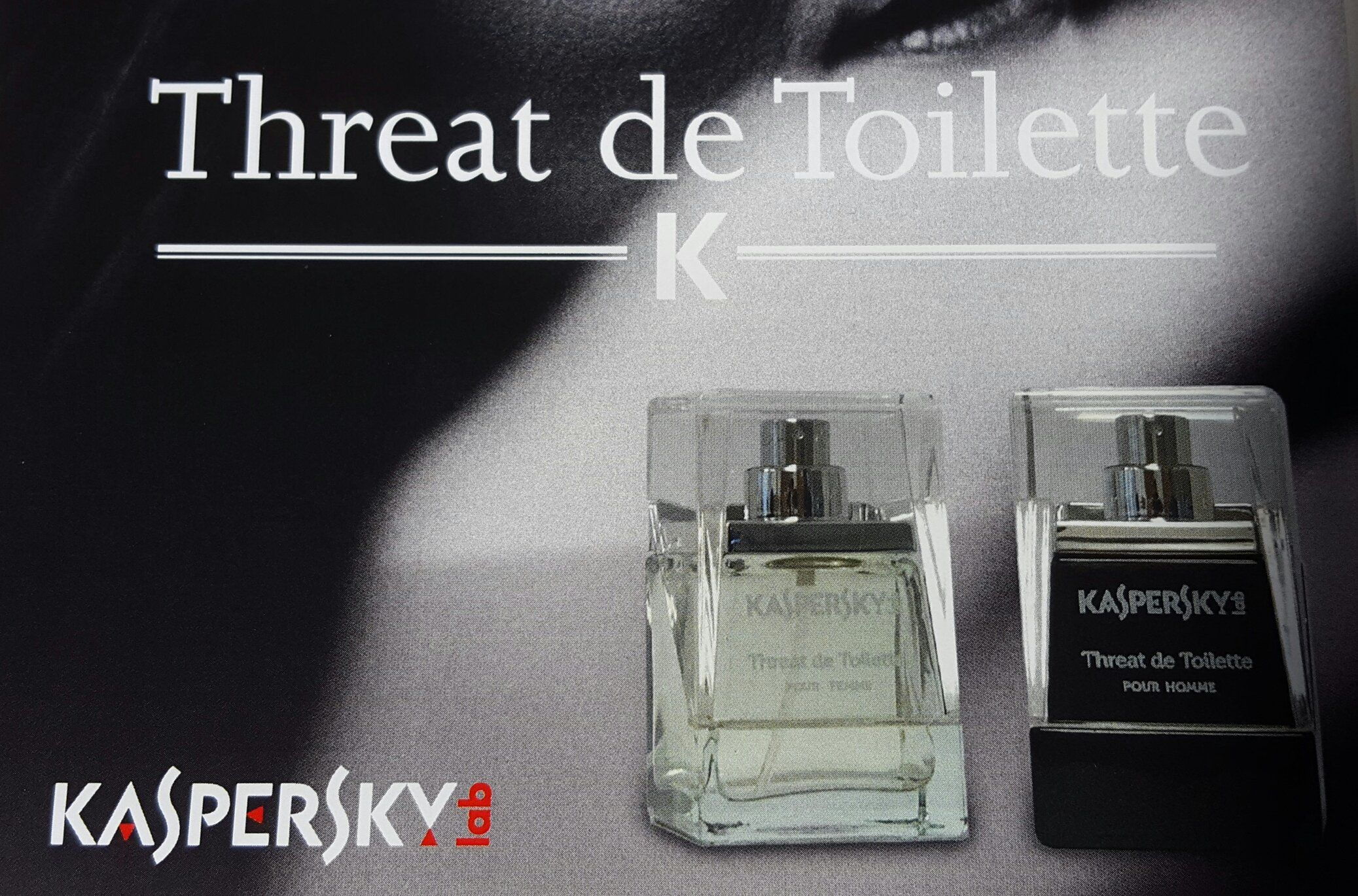 Toilette Gain De Place kaspersky launches a range of perfumes to, er, defend your