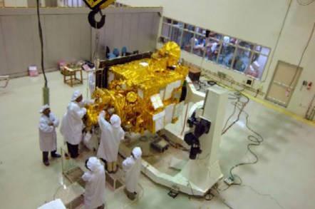ISRO's Chandrayaan-1 lunar orbiter