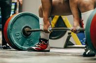 Weight lifter photo2 via Shutterstock