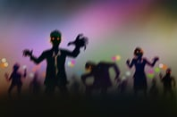 Zombies photo via Shutterstock