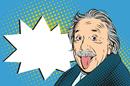 Einstein photo via Shutterstock