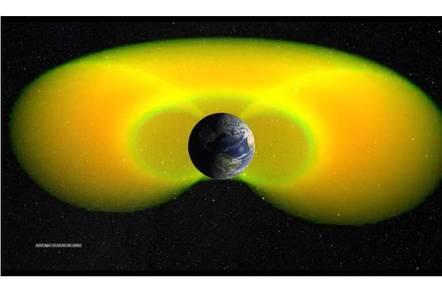 NASA image - Van Allen Belts