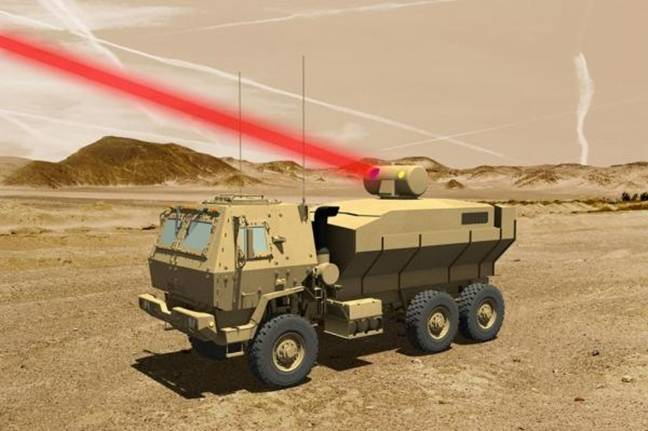 Lockheed Martin completes new battle laser for U.S. military
