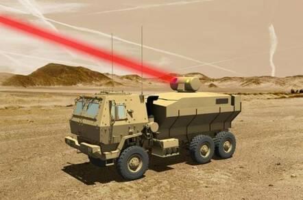 laser truck