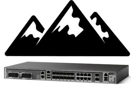 Cisco ASR 920 with mountains