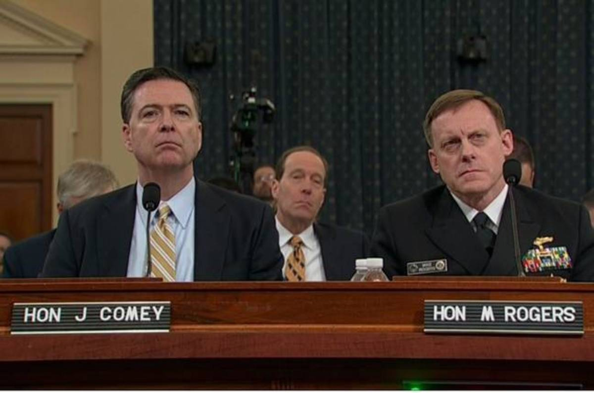 photo image FBI, NSA top brass: We've seen jack squat to back up Trump's claims of Obama wiretaps