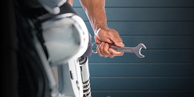 Mechanic photo via Shutterstock
