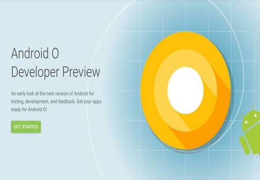 Android O Developer Preview page