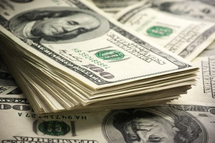 Stack of dollars. photo by shutterstock