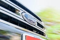 Ford truck photo via Shutterstock