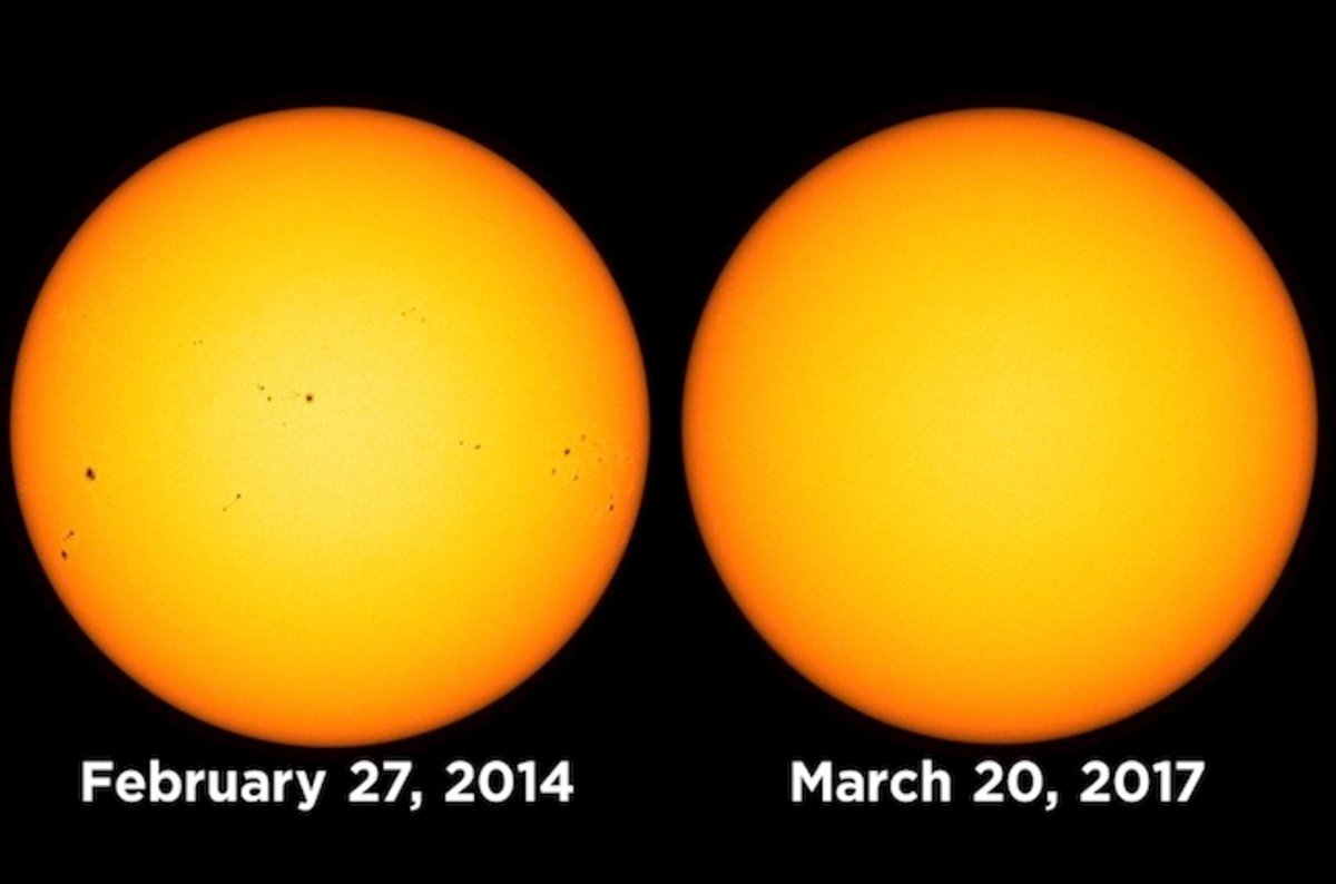 Our Sun's been using facial scrub: No spots for two weeks ...
