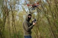 a hostile drone