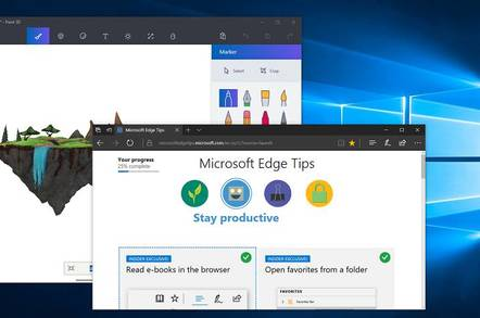 Windows 10 Creators Update with Paint 3D and upgraded Edge browser