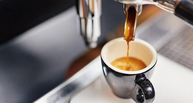 An espresso machine