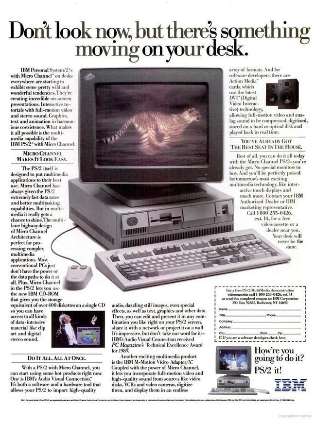 It's 30 years ago: IBM's final battle with reality • The
