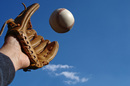 Catching ball photo via Shutterstock