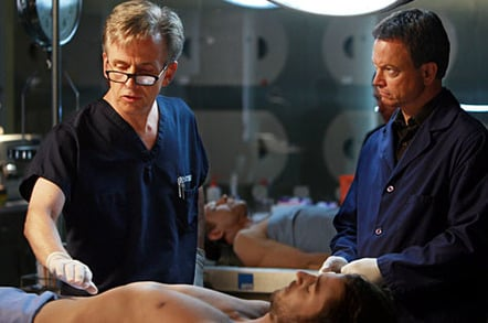csi new york gary sinise  and robert joy as detective and medical examiner on csi:ny ... Photo by: Monty Brinton/CBS