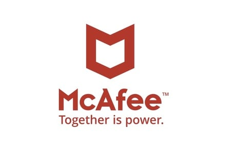 McAfeee logo
