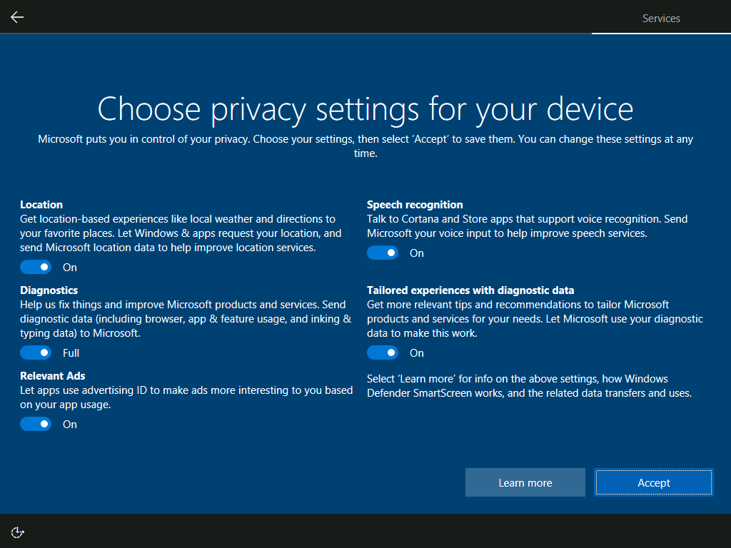 Put down your coffee and admire the sheer amount of data Windows 10