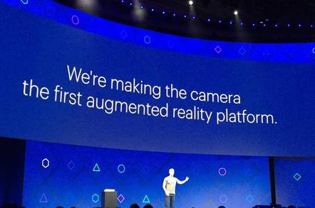 Mark Zuckerberg at F8 2017