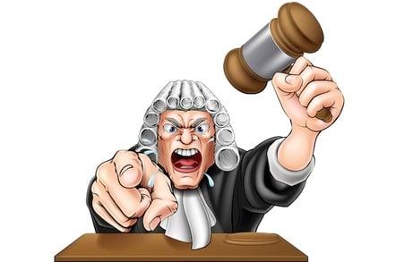 Angry Judge