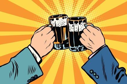 Cheers photo via Shutterstock