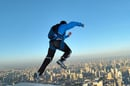 Base jumper photo via Shutterstock