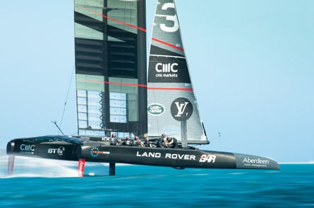 Land Rover BAR's America's Cup boat for 2017