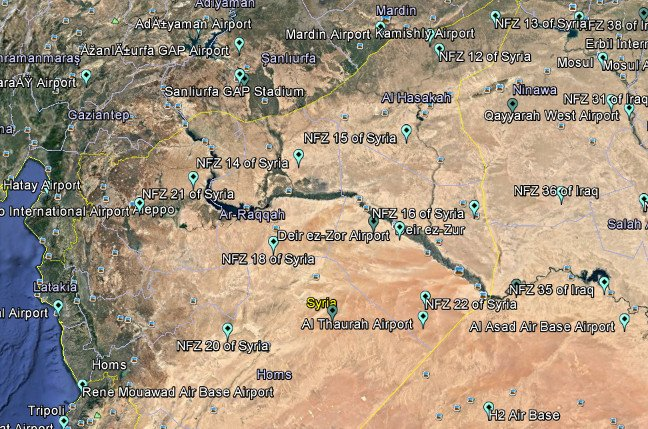 Gaziantep Map%0A Drone maker DJI quietly made large chunks of Iraq  Syria nofly zones  u     The  Register