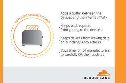 Cloudflare's incredible solution for IoT security: Use our services