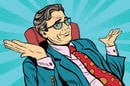 businessman shrugging - illustration via shutterstock