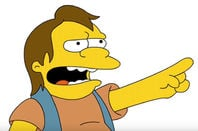 Nelson from the Simpsons. Pic: 20th Century Fox