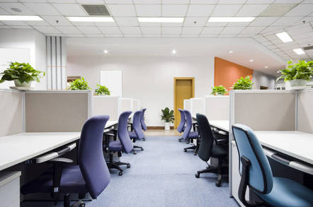 Empty chairs in an office. Pic by shutterstock