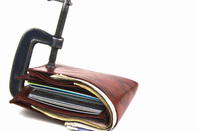 Wallet photo via Shutterstock