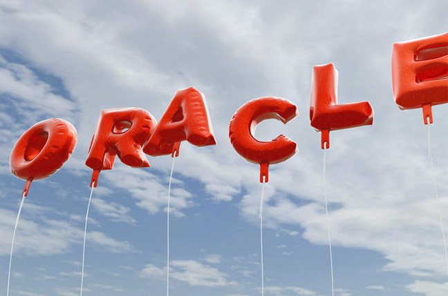 Oracle balloons photo via Shutterstock
