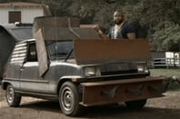BA Baracus modifies a car in The A-Team: The Original Series - copyright NBc