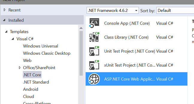 ASP.NET Core is the cross-platform version of Microsoft's web application framework