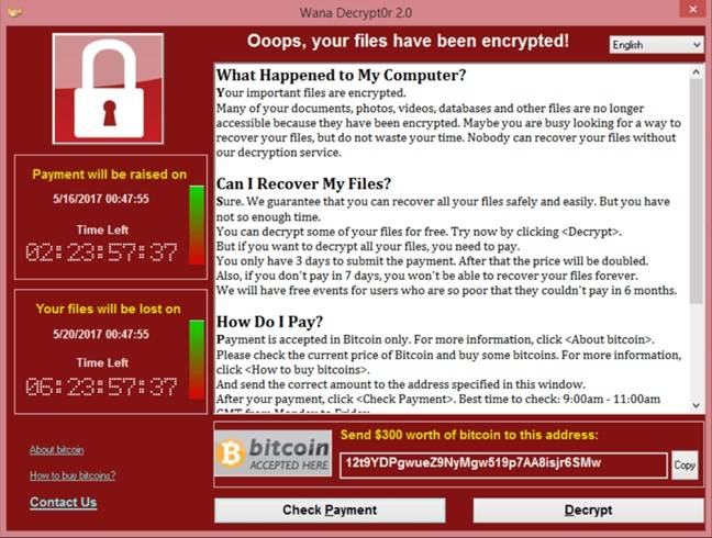 Spain also reports ransomware attack